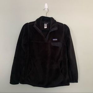 Patagonia Re-Tool Snap-T Women's Black Pullover